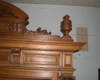 detail of 9ft bookcase