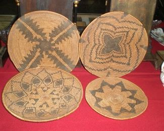 Native American coil baskets c.1930