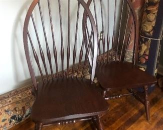 Set of 6  Reproduction Windsor Chairs