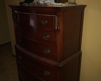 Chest mahogany