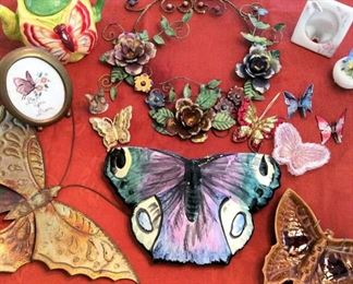 PVT036 Collectible Butterfly Decorations