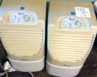 PVT069 Two Whirlpool Dehumidifiers