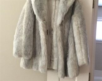 3/4 Length Fox Fur Coat
