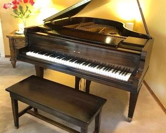 Beautiful Cable- Nelson Baby Grand Piano!