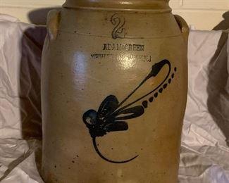 Adam Green Tobacco Jar New Brunswick