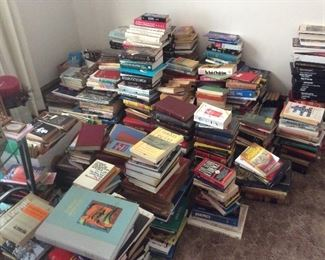 The books collection if full