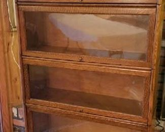 Barristers bookcase, excellent condition