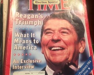 Lots of magazine and newspaper selections of important events - 1920's through 1990's