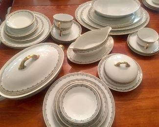 Bavarian porcelain set - service for about 12