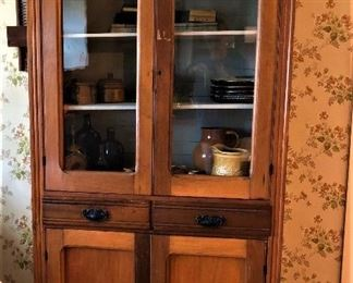 early 1900's Kitchen cabinet