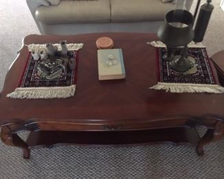 Stickley living room coffee table- can be available as part of set with matching end tables - like new condition!!