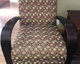 Great contemporary bent arm chair