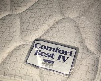 King Bed Excellent Condition Manufactured  locally by Johnathan Stevens Mattress Co.