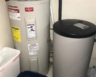 Water heater, water treatment system