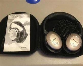 Bose Comfort 2 Acoustic Noise Cancelling Headphones