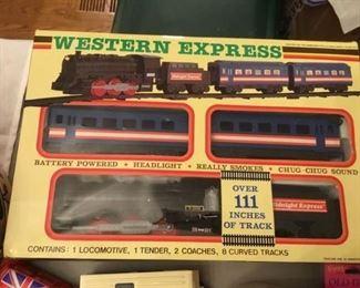 Western Express Train Set