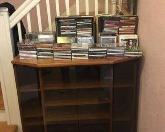 Entertainment Cabinet, CD's