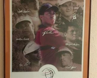 World Golf Championship Poster