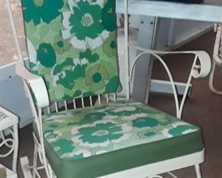 Vintage patio Rocking Chair.