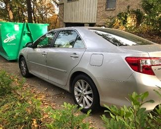 2012 Toyota Camry XLE 34,550 miles. In great condition.
