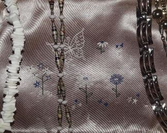 Fashion necklaces.
