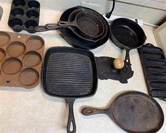 Cast-iron cookware
