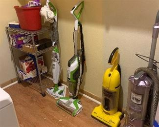 Vacuum cleaners and Hardwood floor cleaners