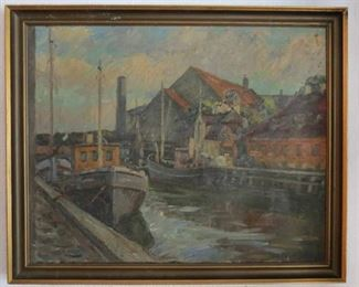 Valdemar Nielsen Oil Painting