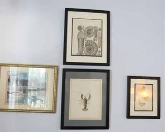 Framed Antique Prints