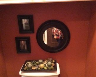 Mirrors and Decor