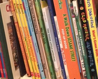 Many children's books, all nice