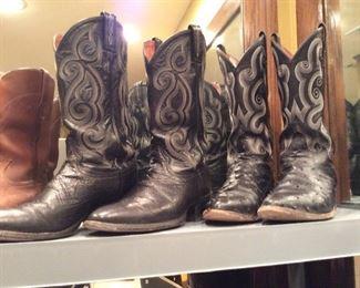 mens 9d cowboy boots