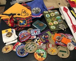 boy and cub scout items