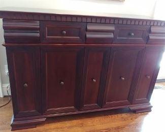 $600 Handcrafted hardwood server