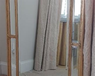 $200 Decorative Arts beveled glass mirror from Colony Furniture