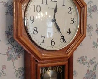Sterling and Noble regulator wall clock