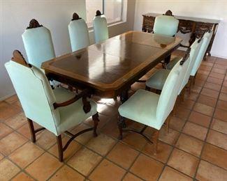 19th Century dining suite