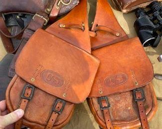 Civil War Saddle Bags