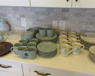 Pretty, beachy dishes and other pieces