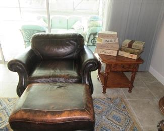 Broyhill leather and tables too