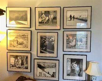 Great Black and White Framed Photos