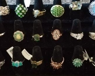 Just a smidgen of jewelry available, come shop for Christmas or just because!