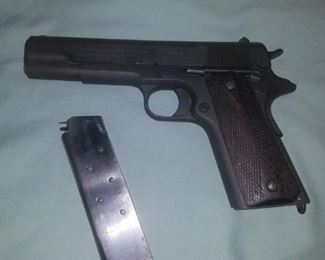1913 Colt .45 Pistol.  1 of 200 commissioned to the Argentine Navy in 1914