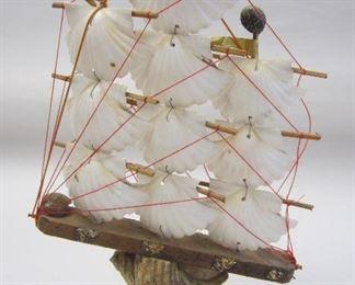 Seashell ship model