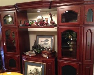 Wall unit perfect for a TV and decor