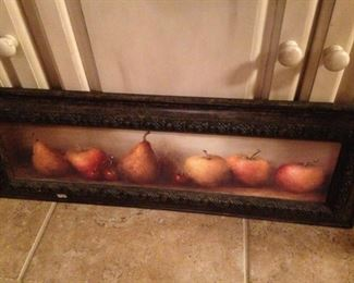 Horizontal fruit art