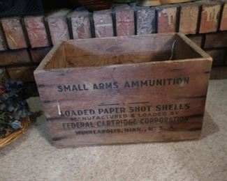 Old Ammo Boxes