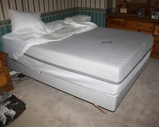 Like new Sleep number 10 queen size mattress.  Very nice
