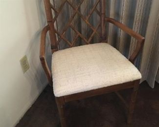 Thomasville dining chair with arms