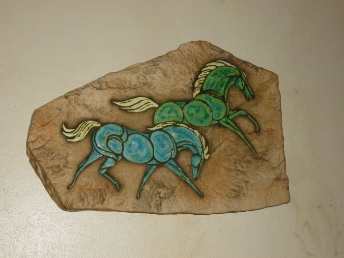 Very cool vintage wall decor